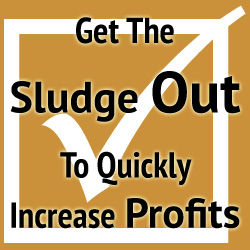 Checklist #3 of 4: Revolution 3 – Get The Sludge Out To Quickly Increase Profits